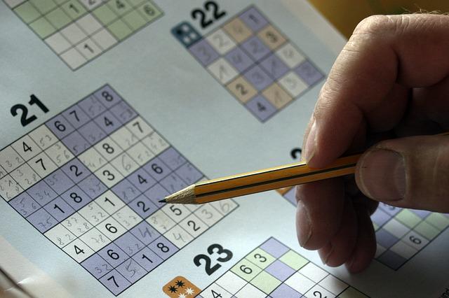 Sudoku = intensywne myślenie